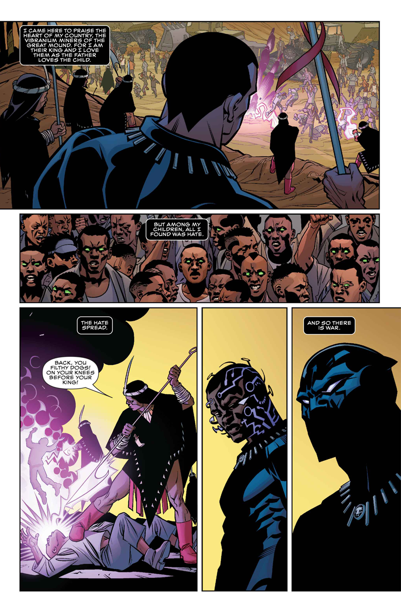 From BLACK PANTHER #1