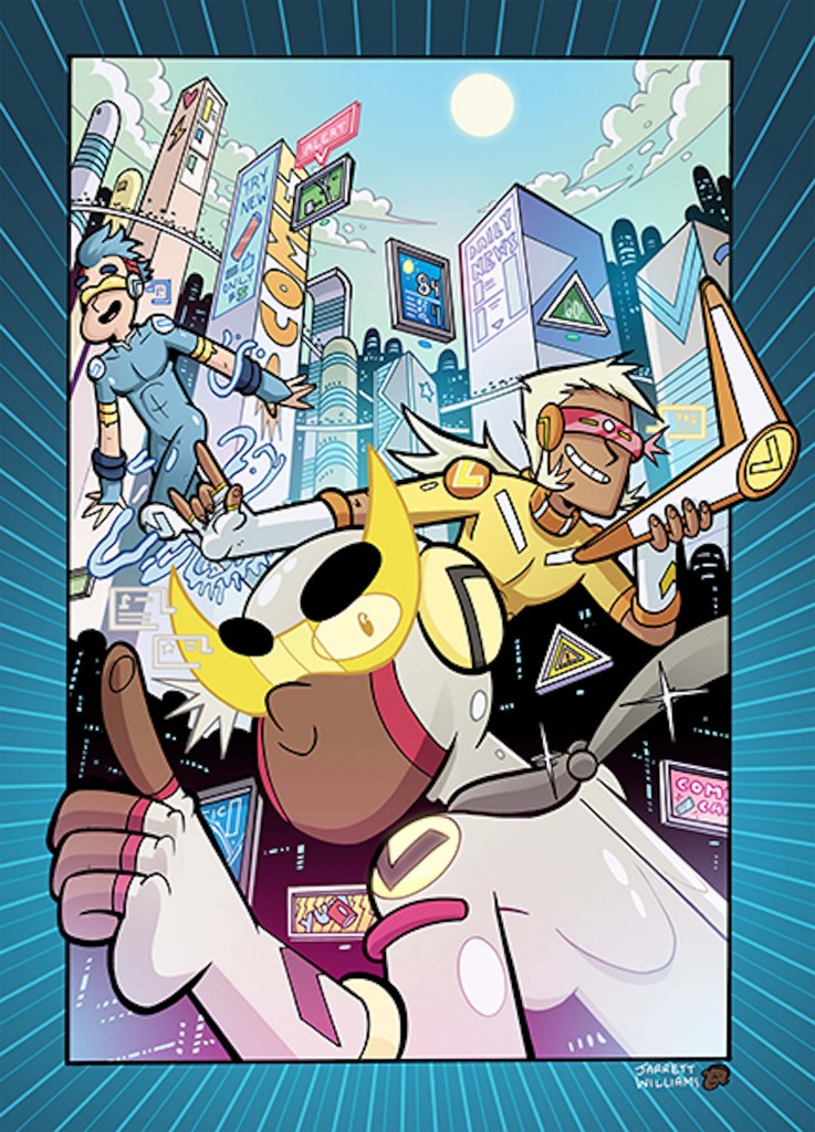 HYPER FORCE NEO #1 cover