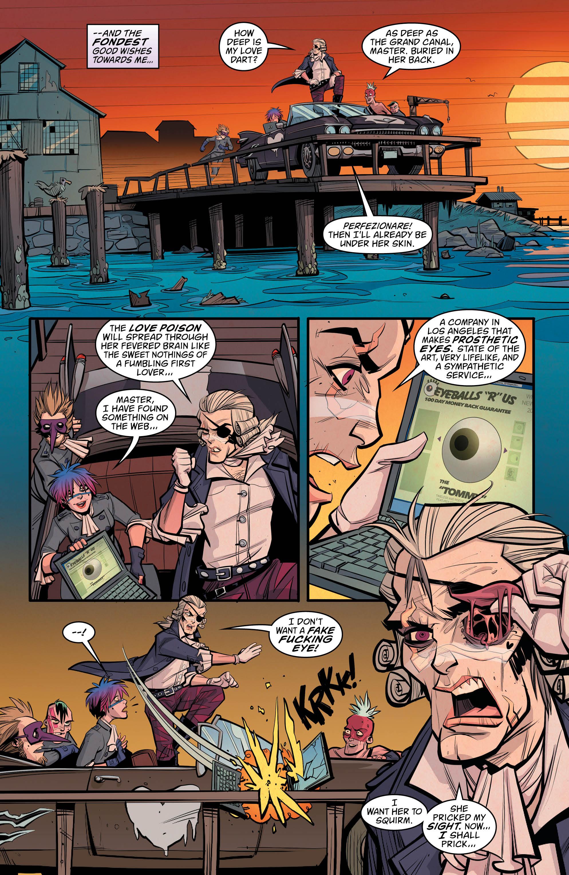 NEW ROMANCER #5 page 3