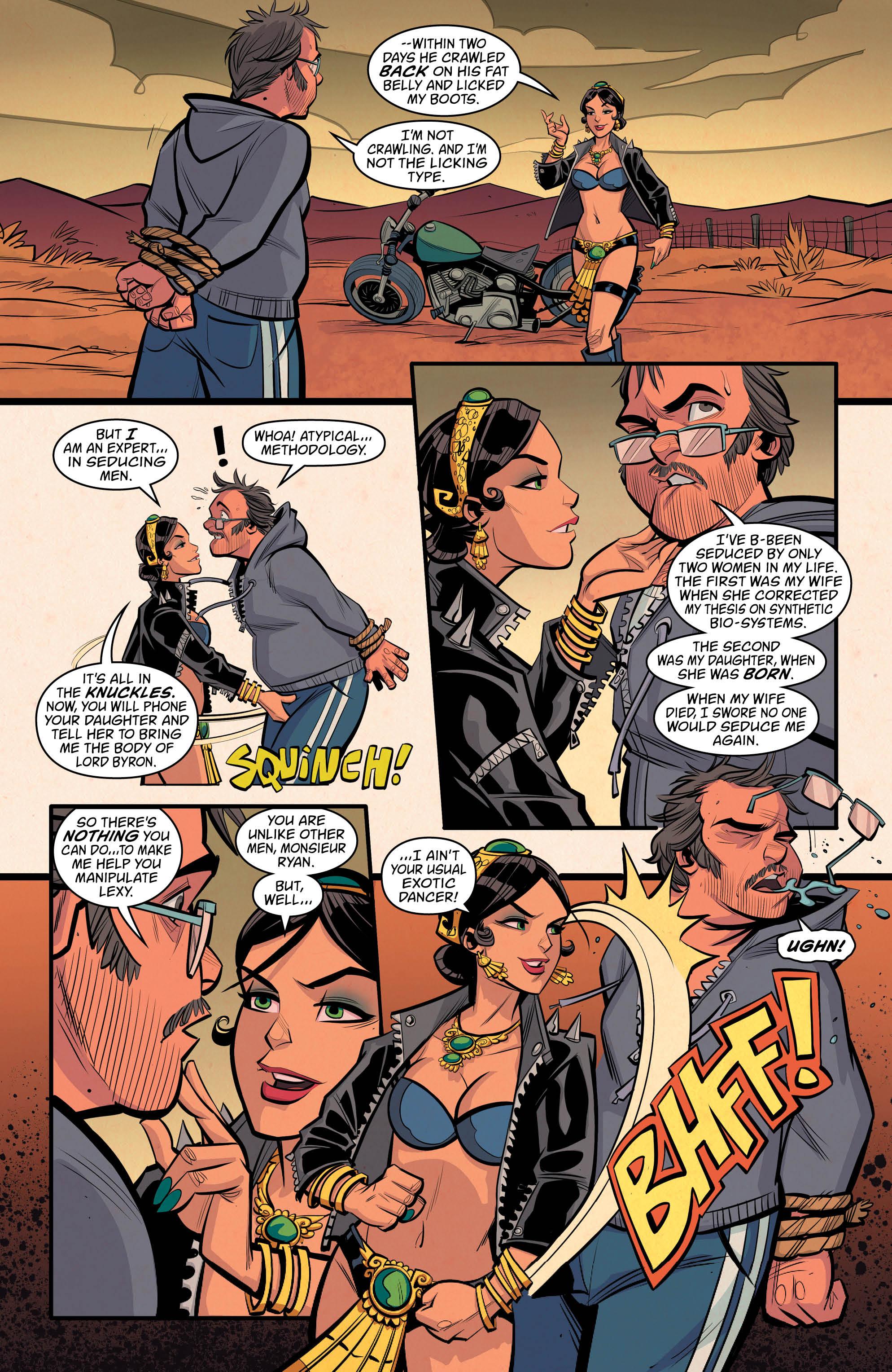 NEW ROMANCER #5 page 6