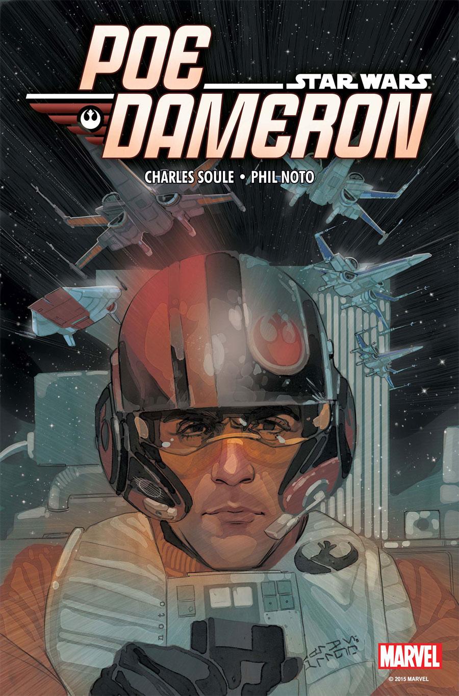 POE DAMERON #1 cover