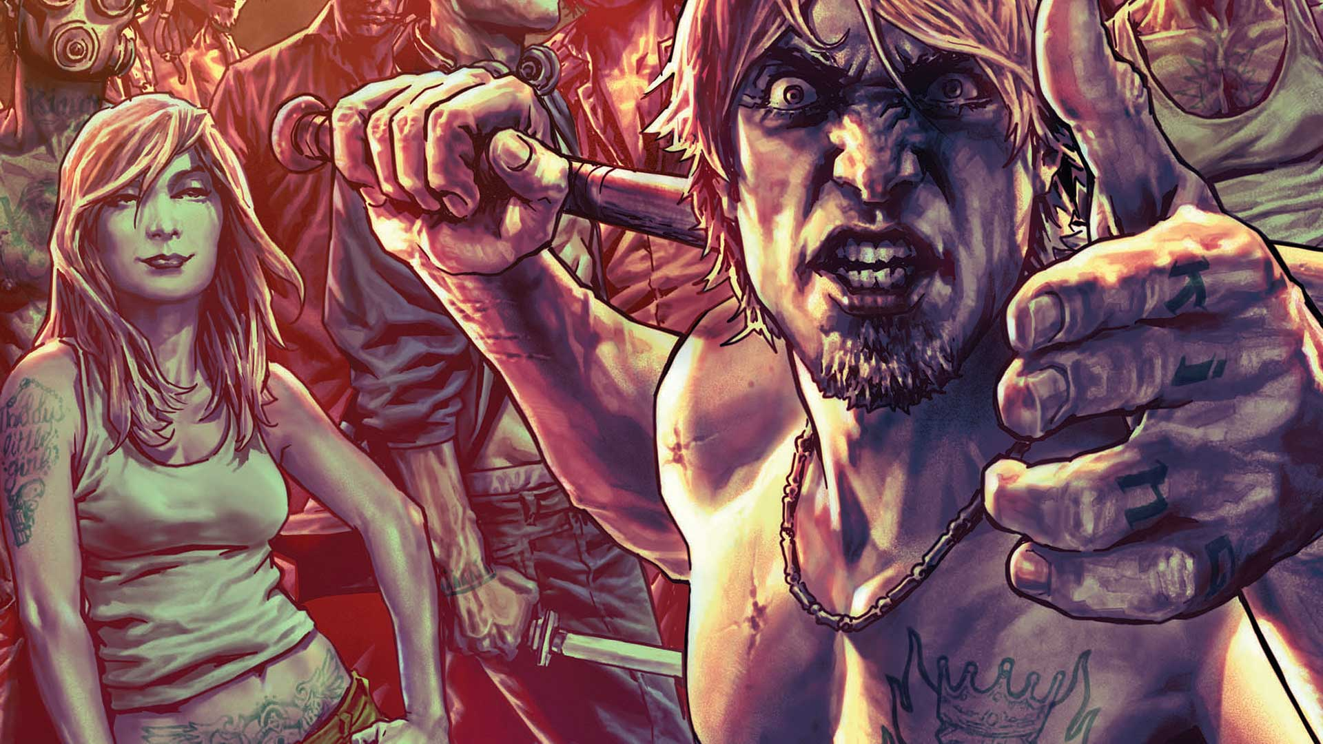 SUICIDERS: KINGS OF HELL.A #1 cover