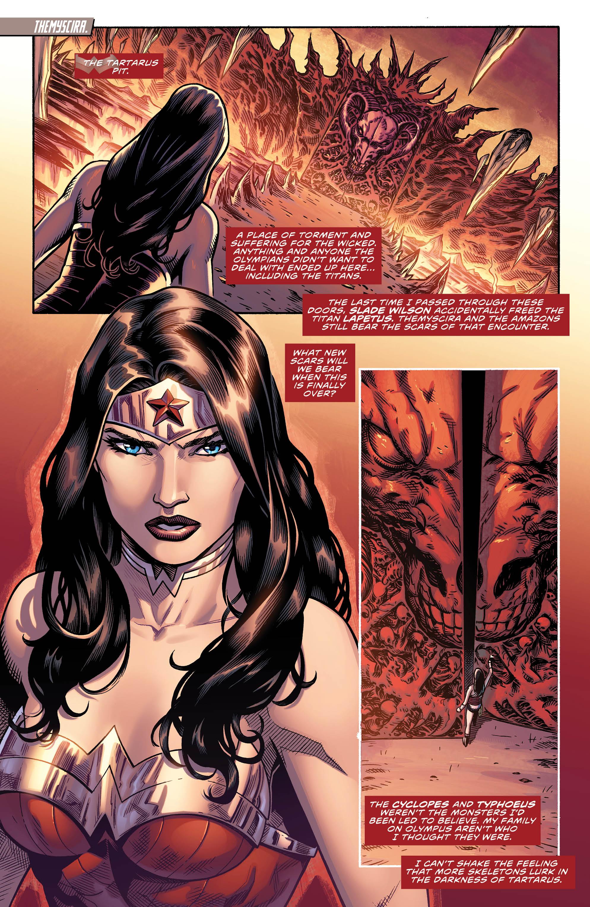 WONDER WOMAN #51 page 1