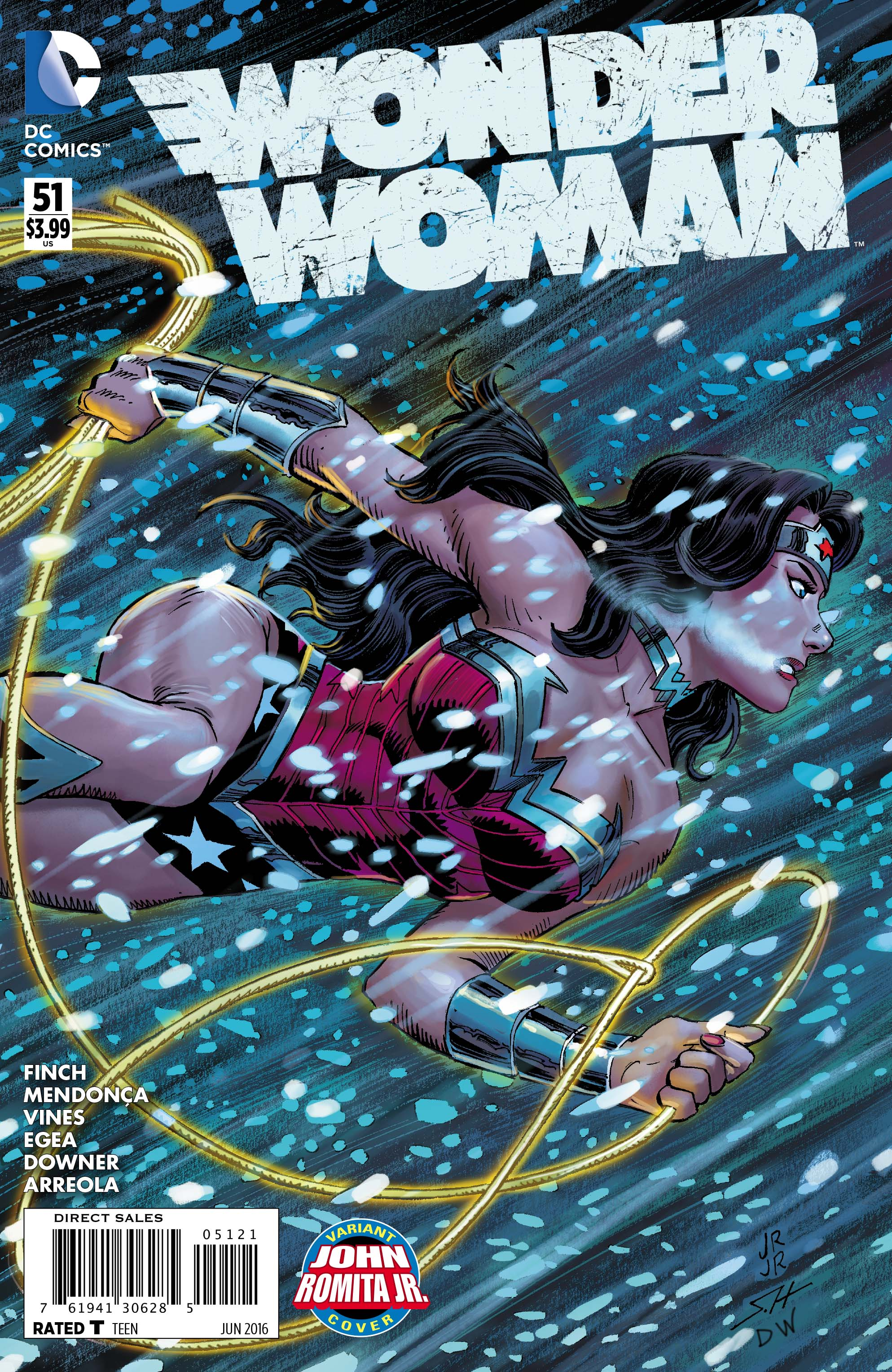 WONDER WOMAN #51 alternate cover