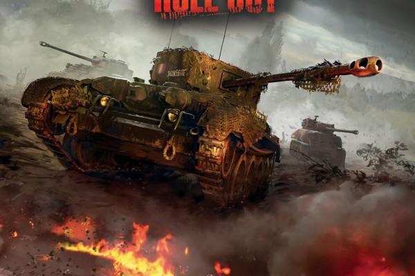 Wold of Tanks: Roll Out! promotional cover. Art by Isaac Hannaford