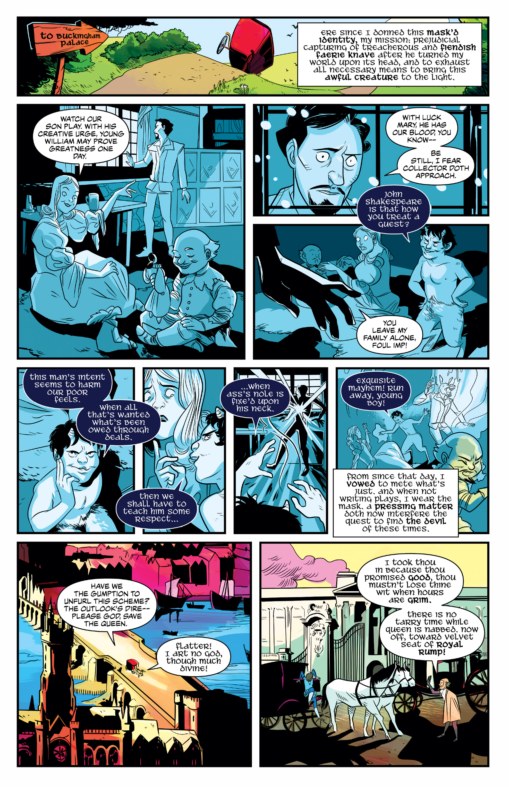 NO HOLDS BARD #1 page 6