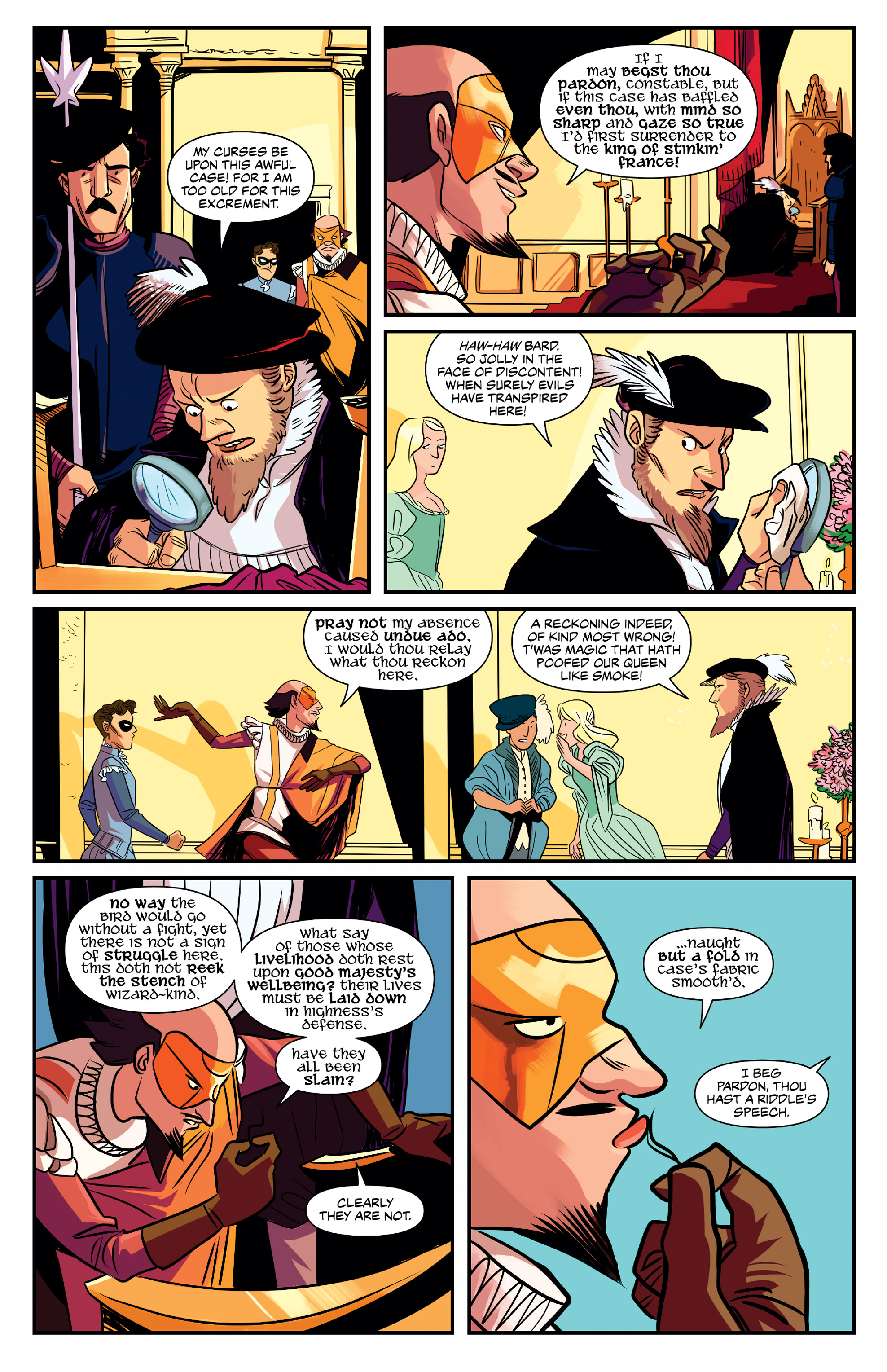 NO HOLDS BARD #1 page 7