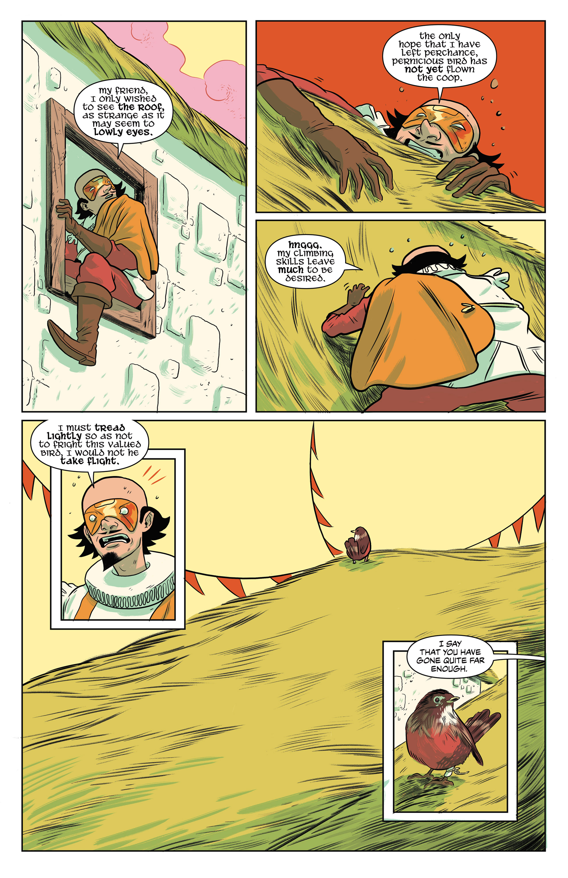 NO HOLDS BARD #1 page 12