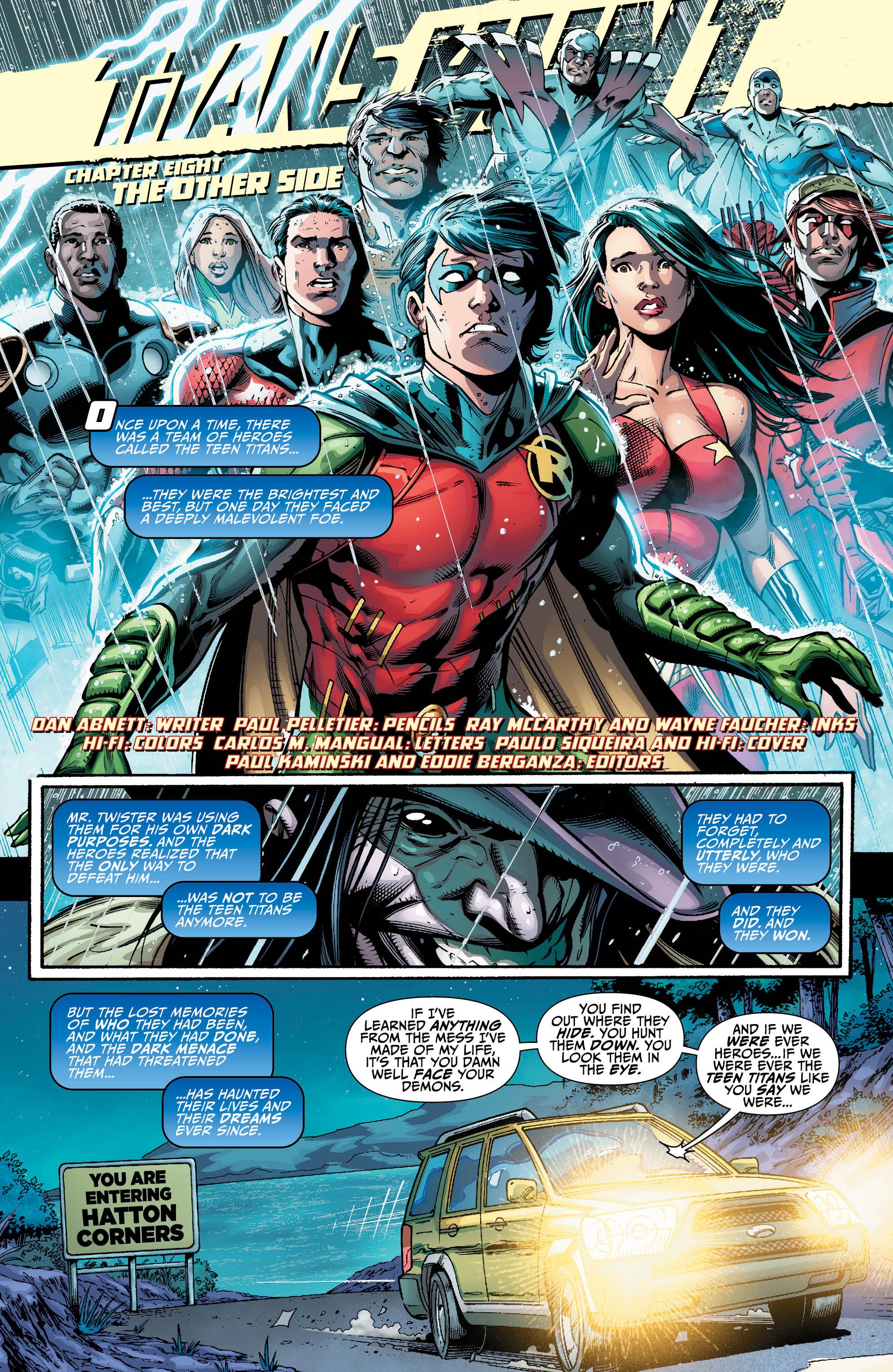 TITANS HUNT #8 page 1