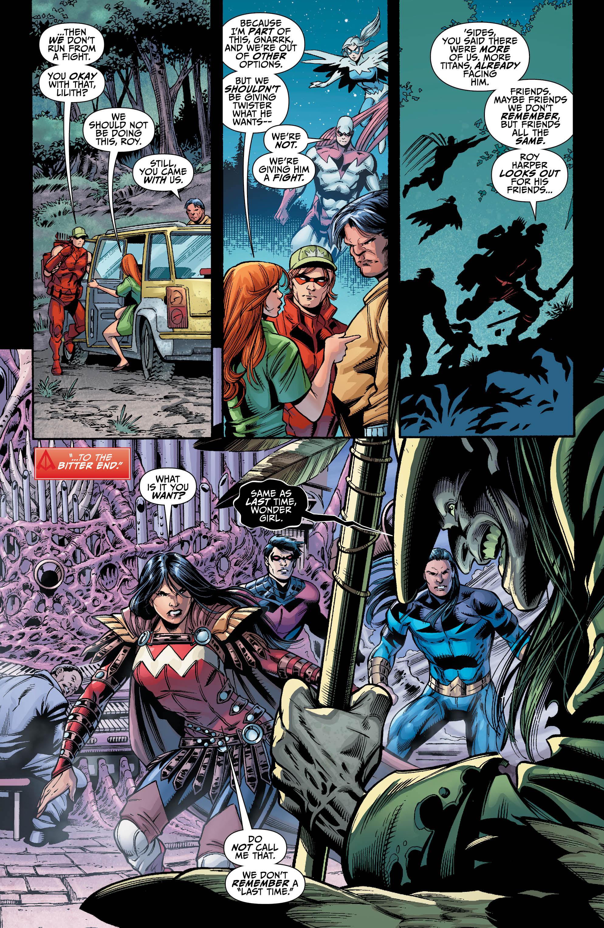 TITANS HUNT #8 page 2