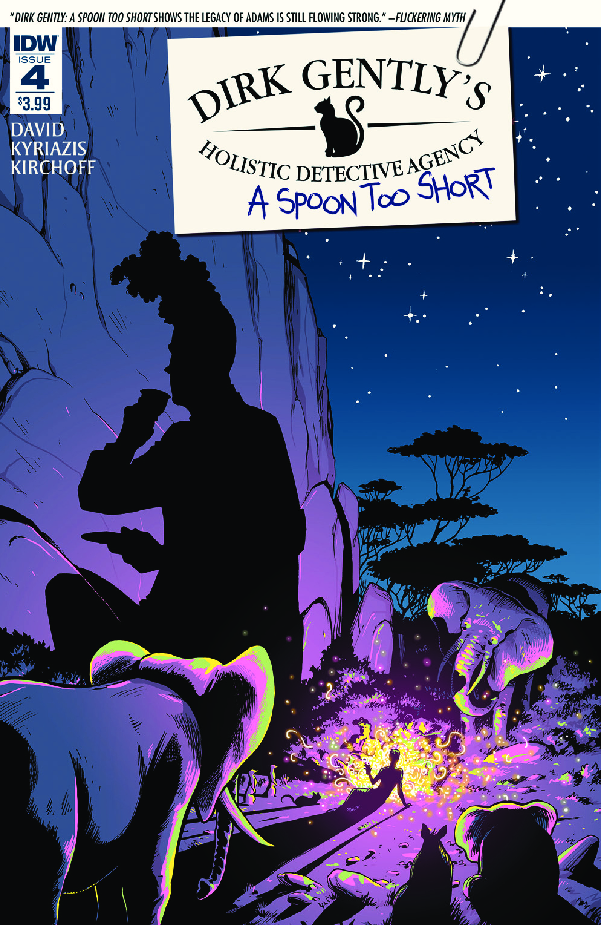 DIRK GENTLY: A SPOON TOO SHORT #4 cover