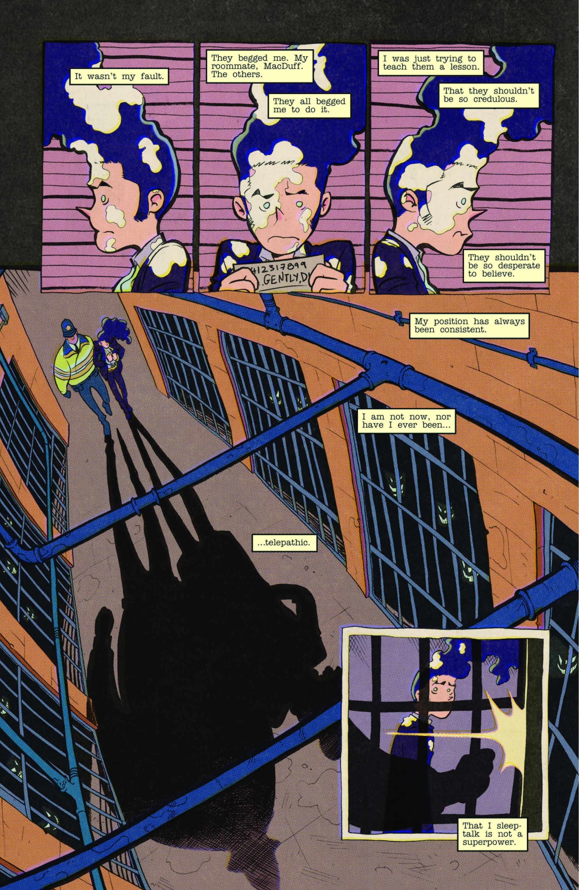 DIRK GENTLY: A SPOON TOO SHORT #4 page 3