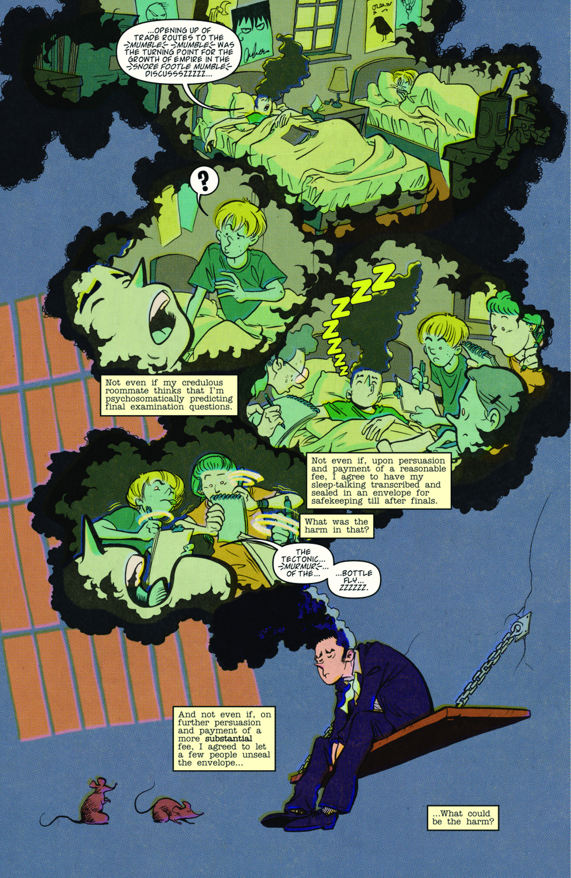 DIRK GENTLY: A SPOON TOO SHORT #4 page 4