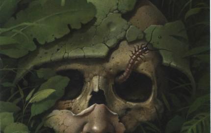 Cover art for Born #2, by Wieslaw Walkuski.