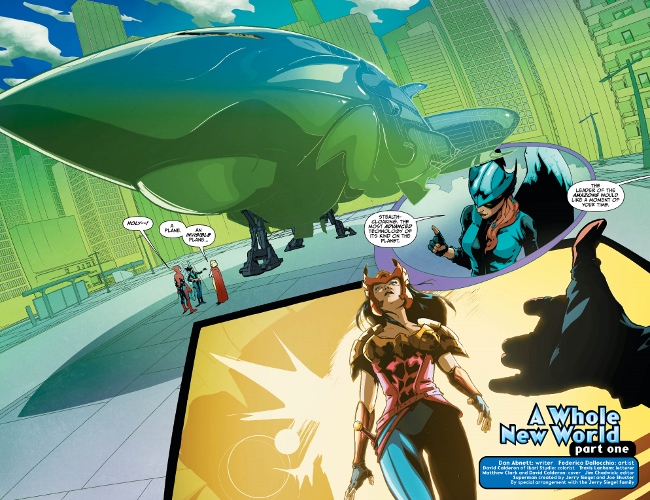 EARTH 2: SOCIETY #13 pages 4-5