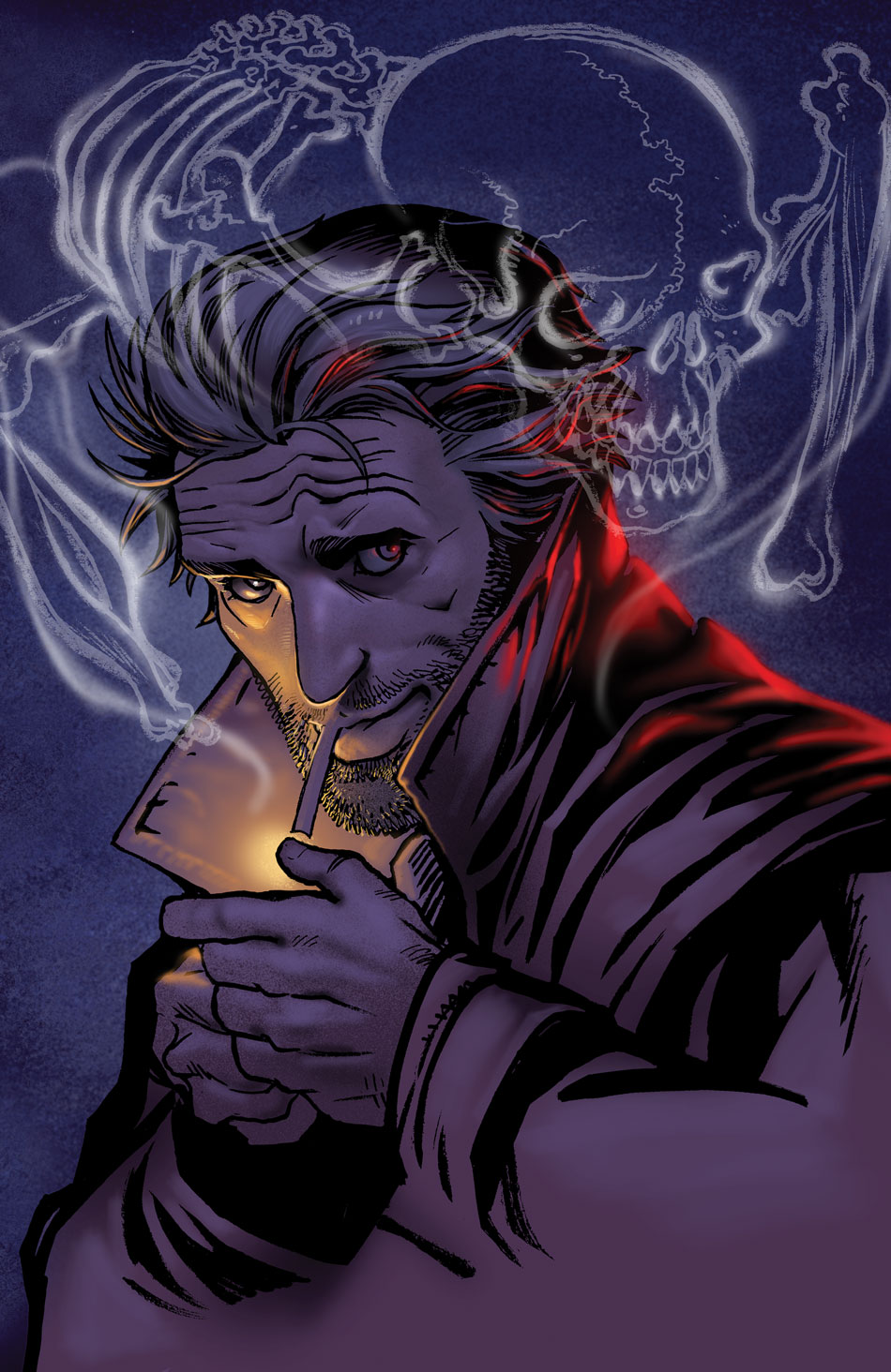 THE HELLBLAZER: REBIRTH #1 cover