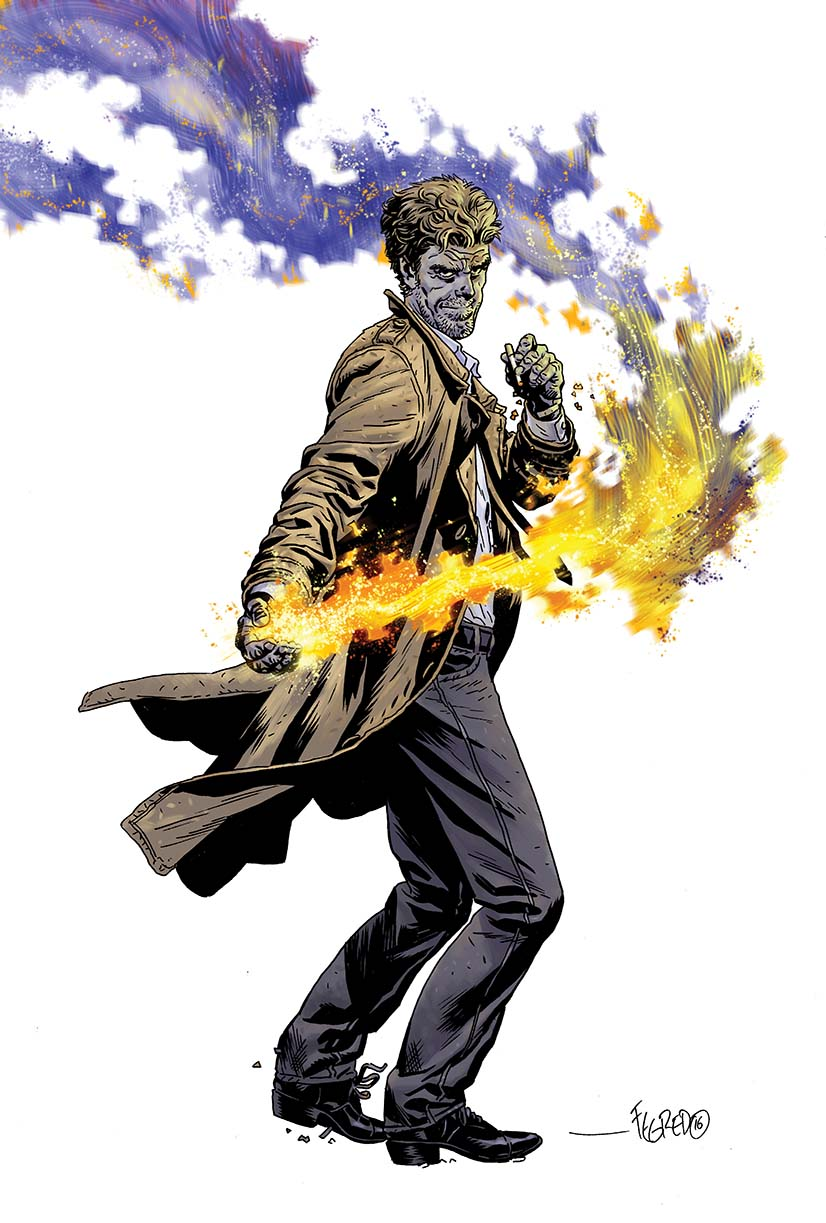 THE HELLBLAZER: REBIRTH #1 variant cover