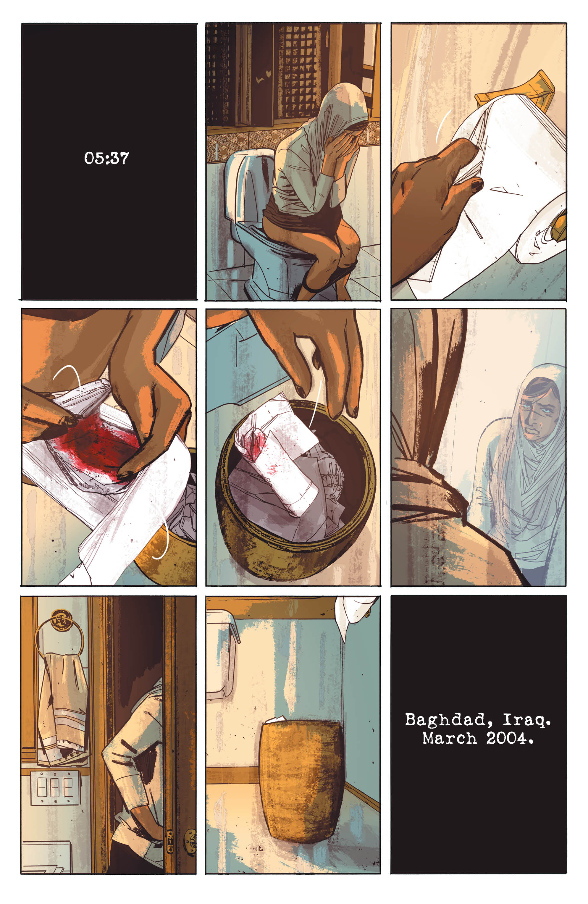 THE SHERIFF OF BABYLON #7 page 1