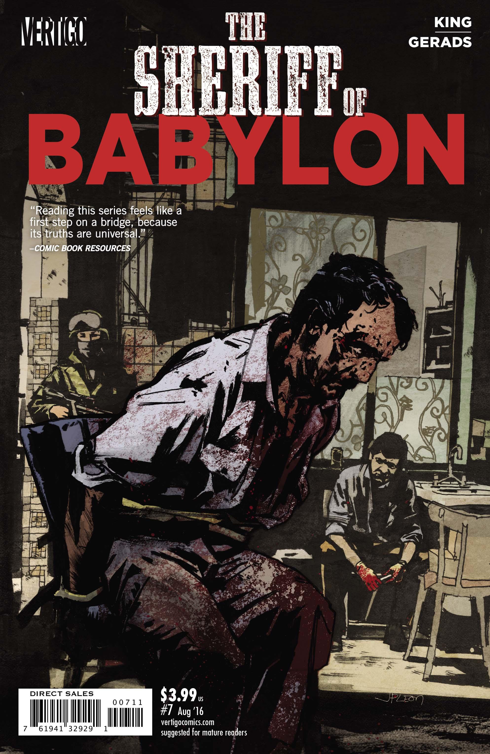 THE SHERIFF OF BABYLON #7 cover