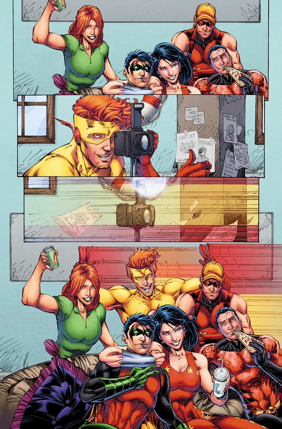 TITANS: REBIRTH #1 page 2