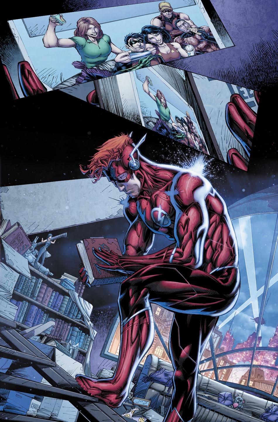 TITANS: REBIRTH #1 page 3