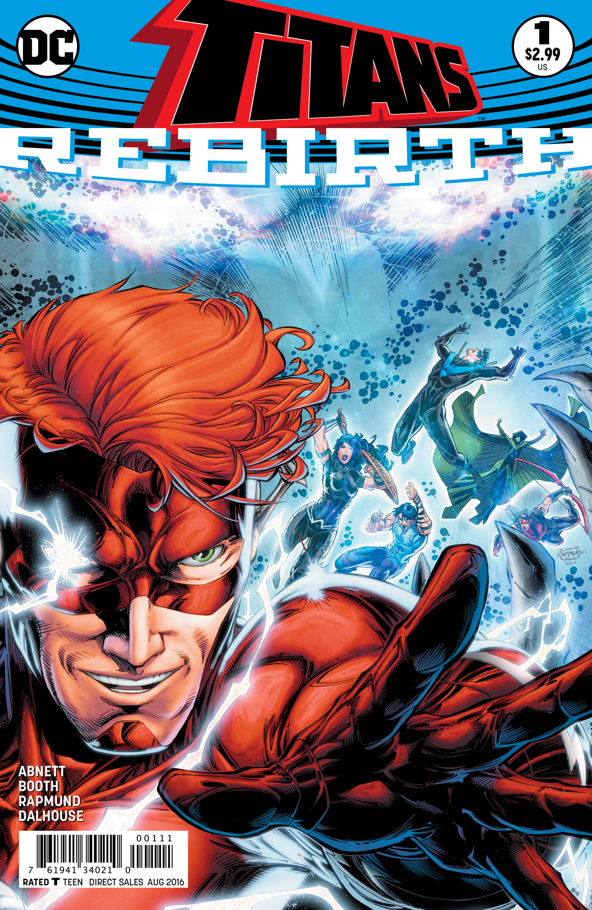 TITANS: REBIRTH #1 cover