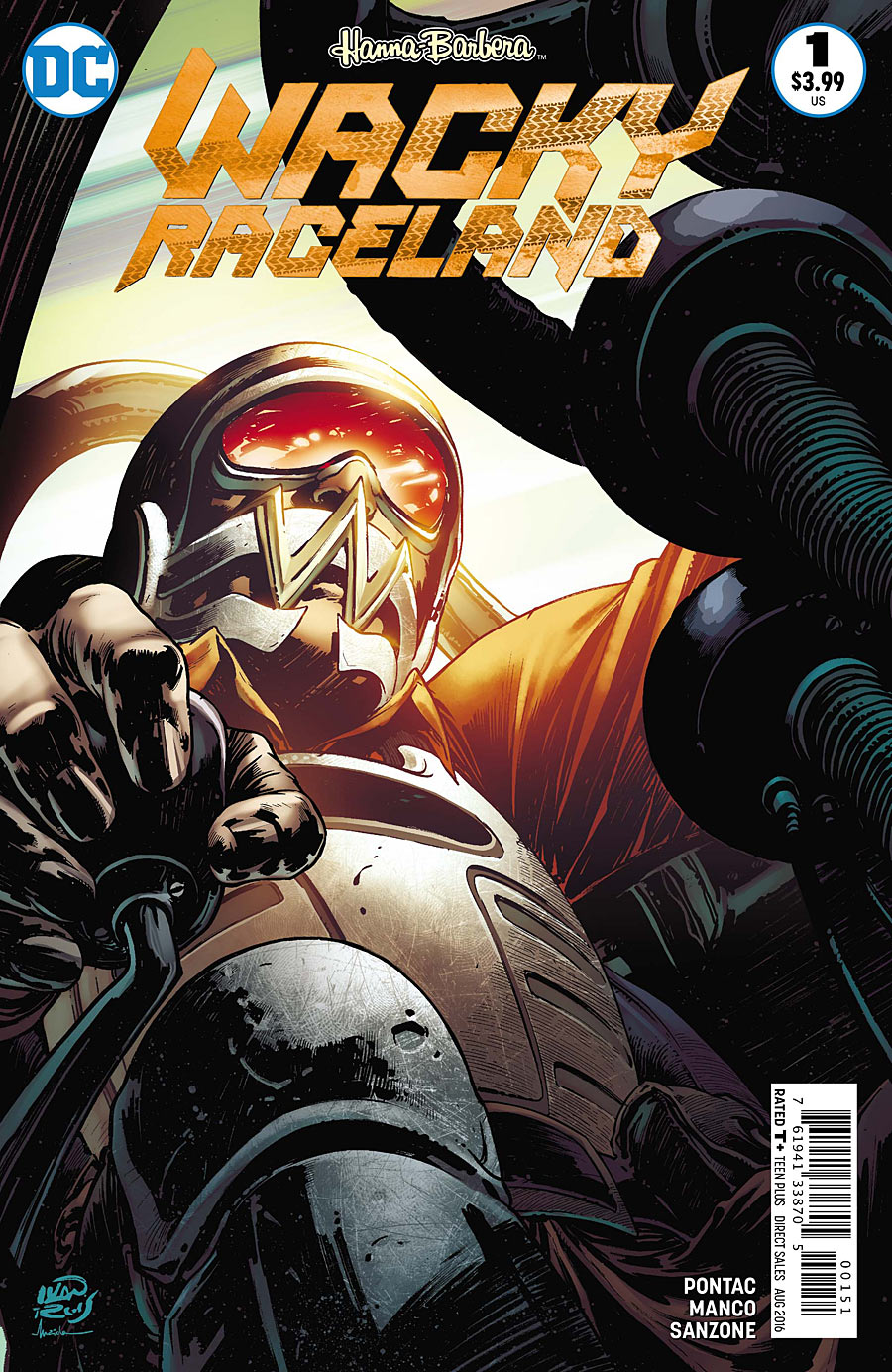 WACKY RACELAND #1 Peter Perfect cover
