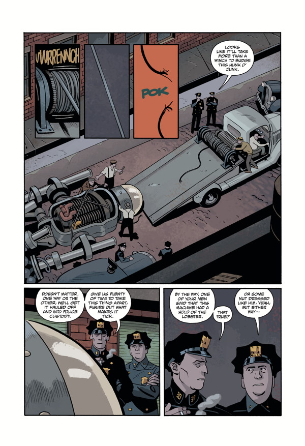 LOBSTER JOHNSON: METAL MONSTERS OF MIDTOWN #2 page 1
