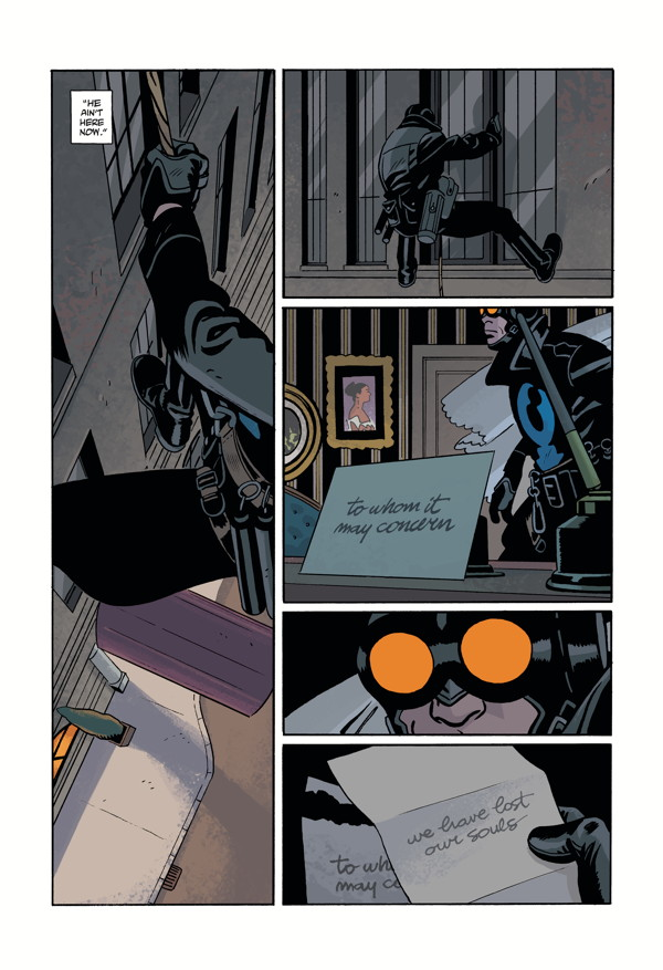 LOBSTER JOHNSON: METAL MONSTERS OF MIDTOWN #2 page 2