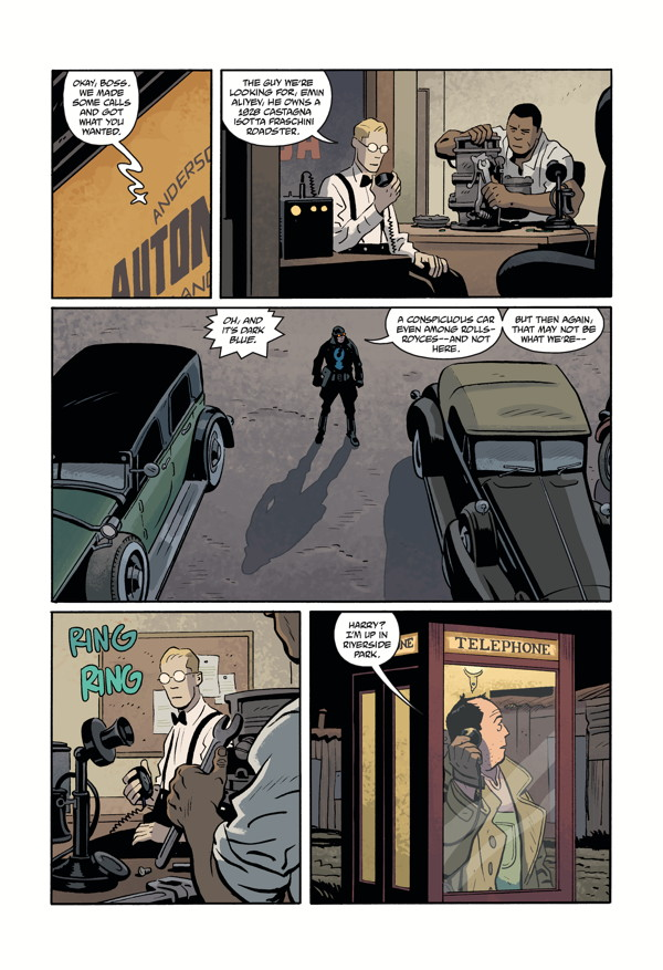 LOBSTER JOHNSON: METAL MONSTERS OF MIDTOWN #2 page 3