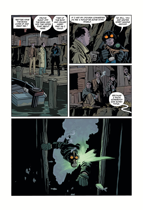 LOBSTER JOHNSON: METAL MONSTERS OF MIDTOWN #2 page 4