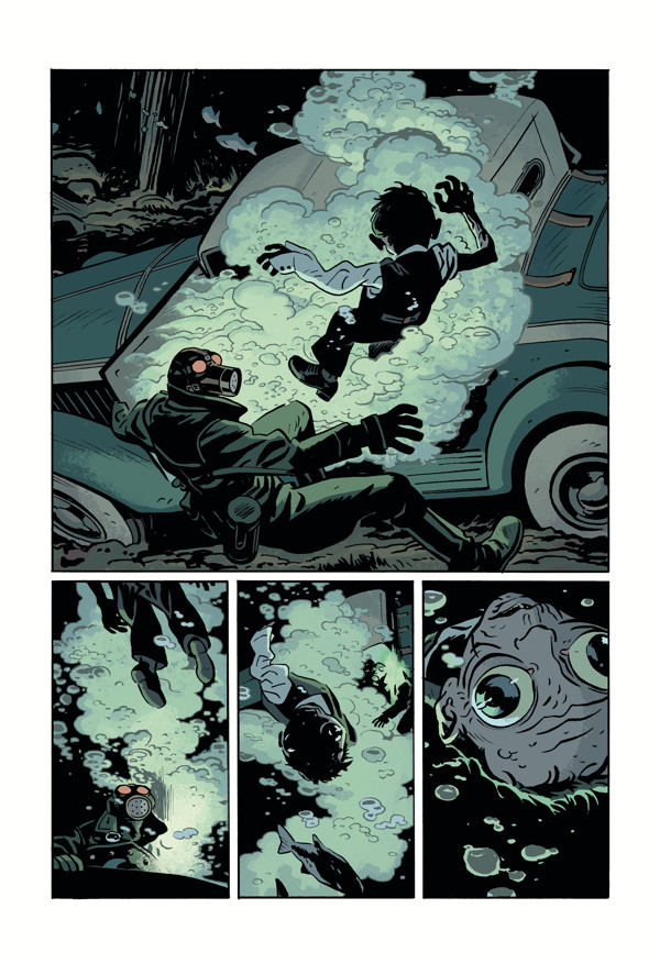 LOBSTER JOHNSON: METAL MONSTERS OF MIDTOWN #2 page 6