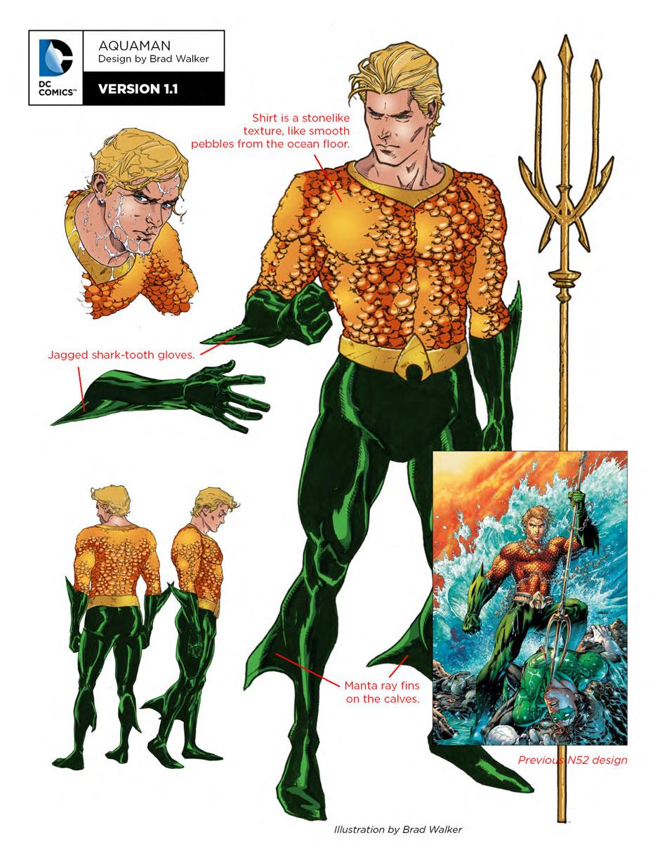Aquaman design notes