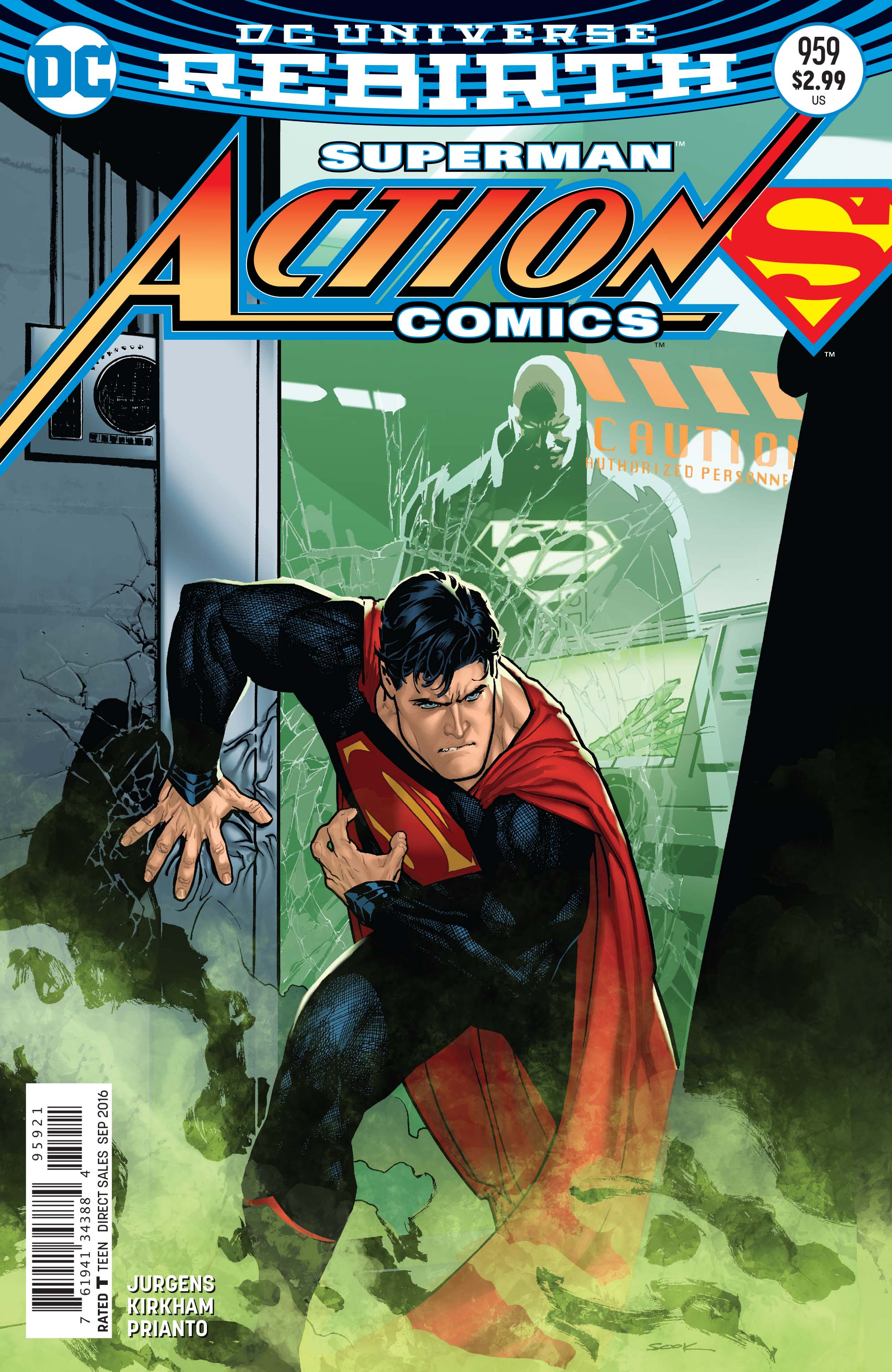 dan jurgens on superman finding his bearings in action