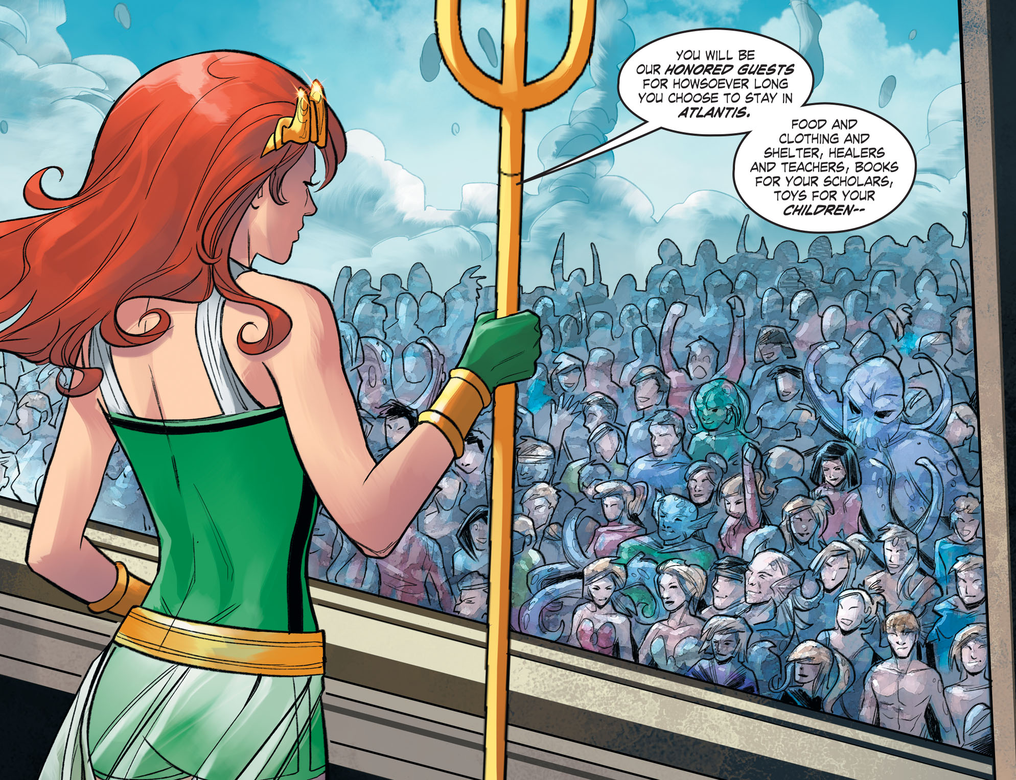 From DC COMICS BOMBSHELLS Chapter 54