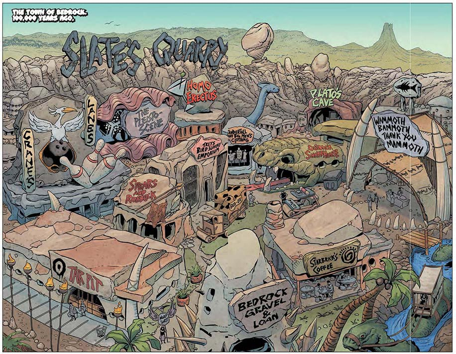 From THE FLINTSTONES #1