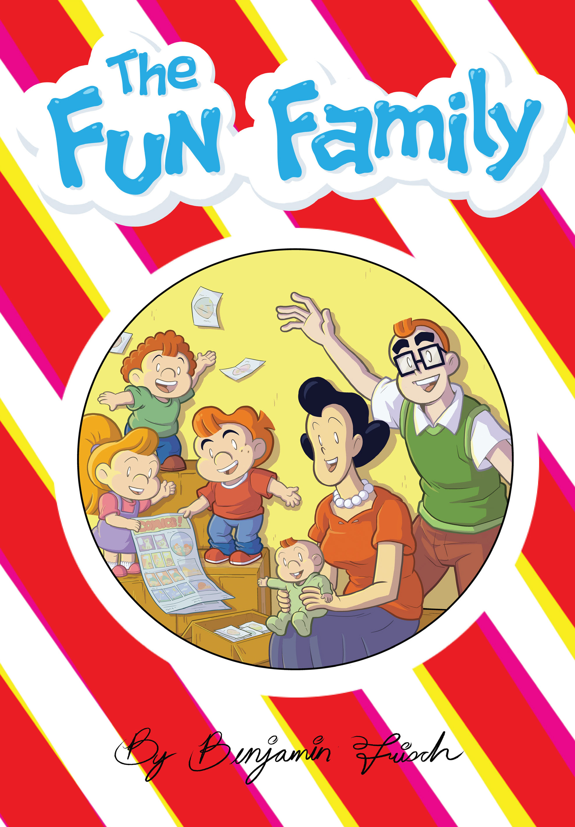 Benjamin Frisch Brings Parody & Satire with THE FUN FAMILY ...