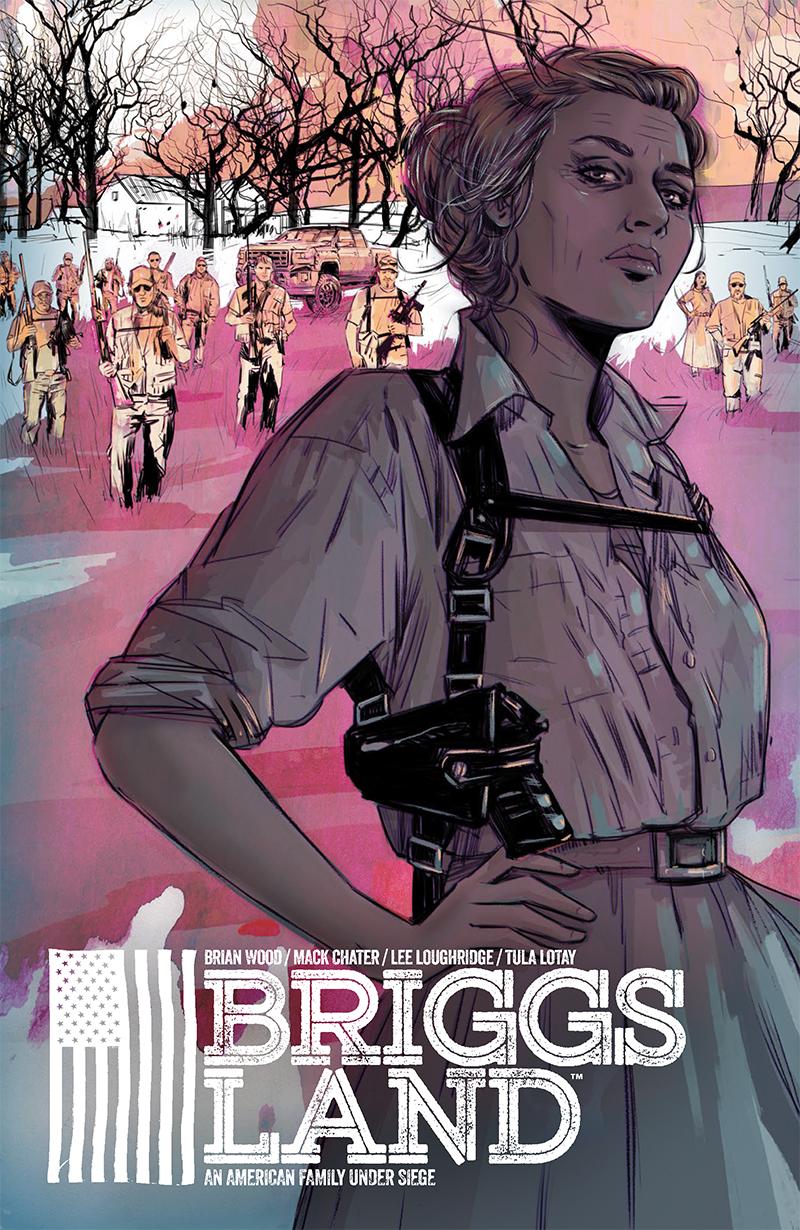BRIGGS LAND #1 cover