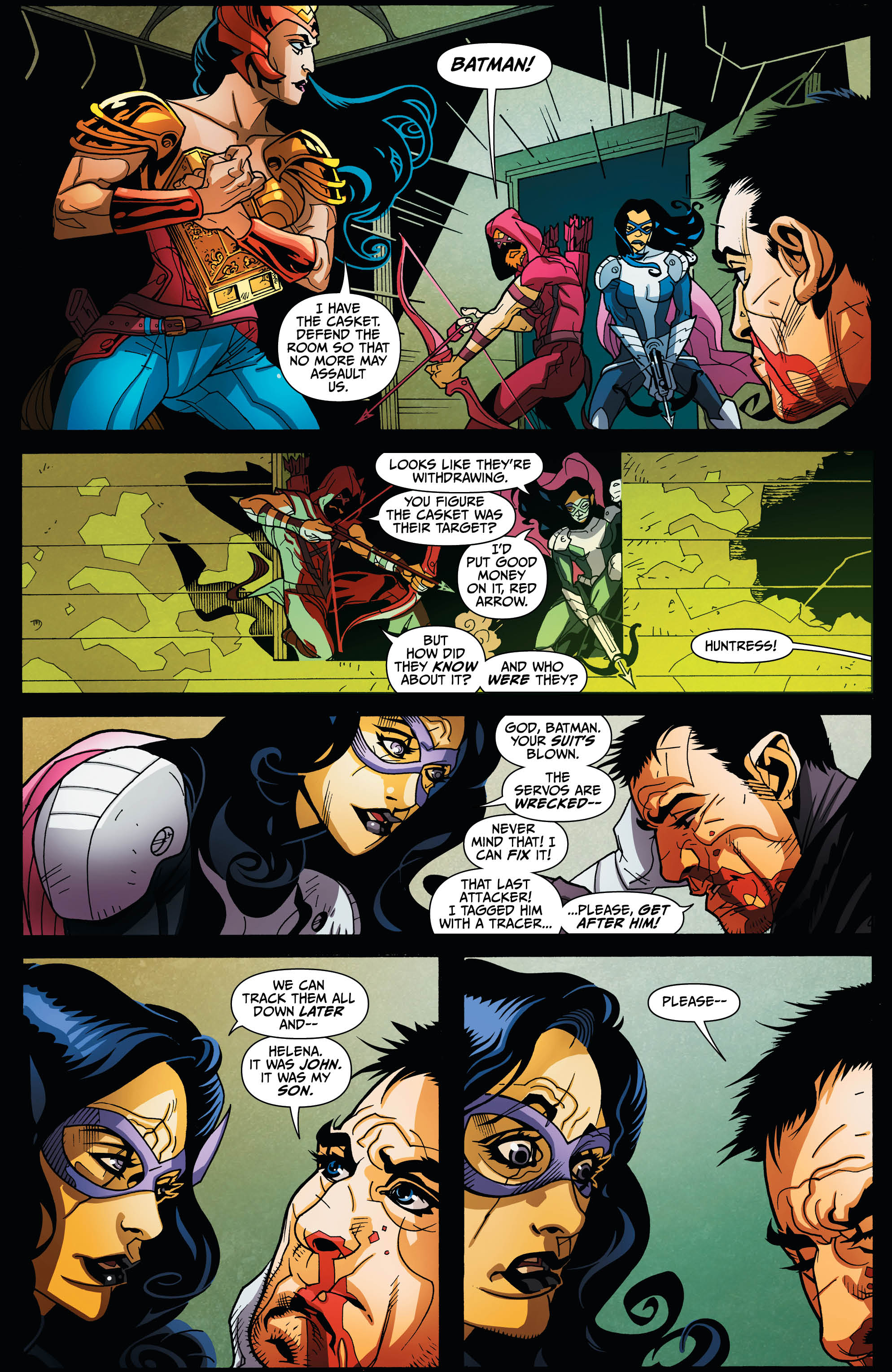 EARTH 2: SOCIETY #15 page 5