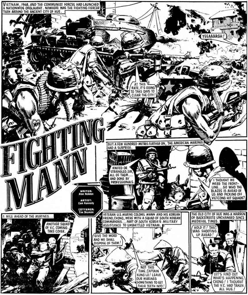 Battle Classics, Vol. 2 p.181. Script by Alan Hebden, art by Cam Kennedy.