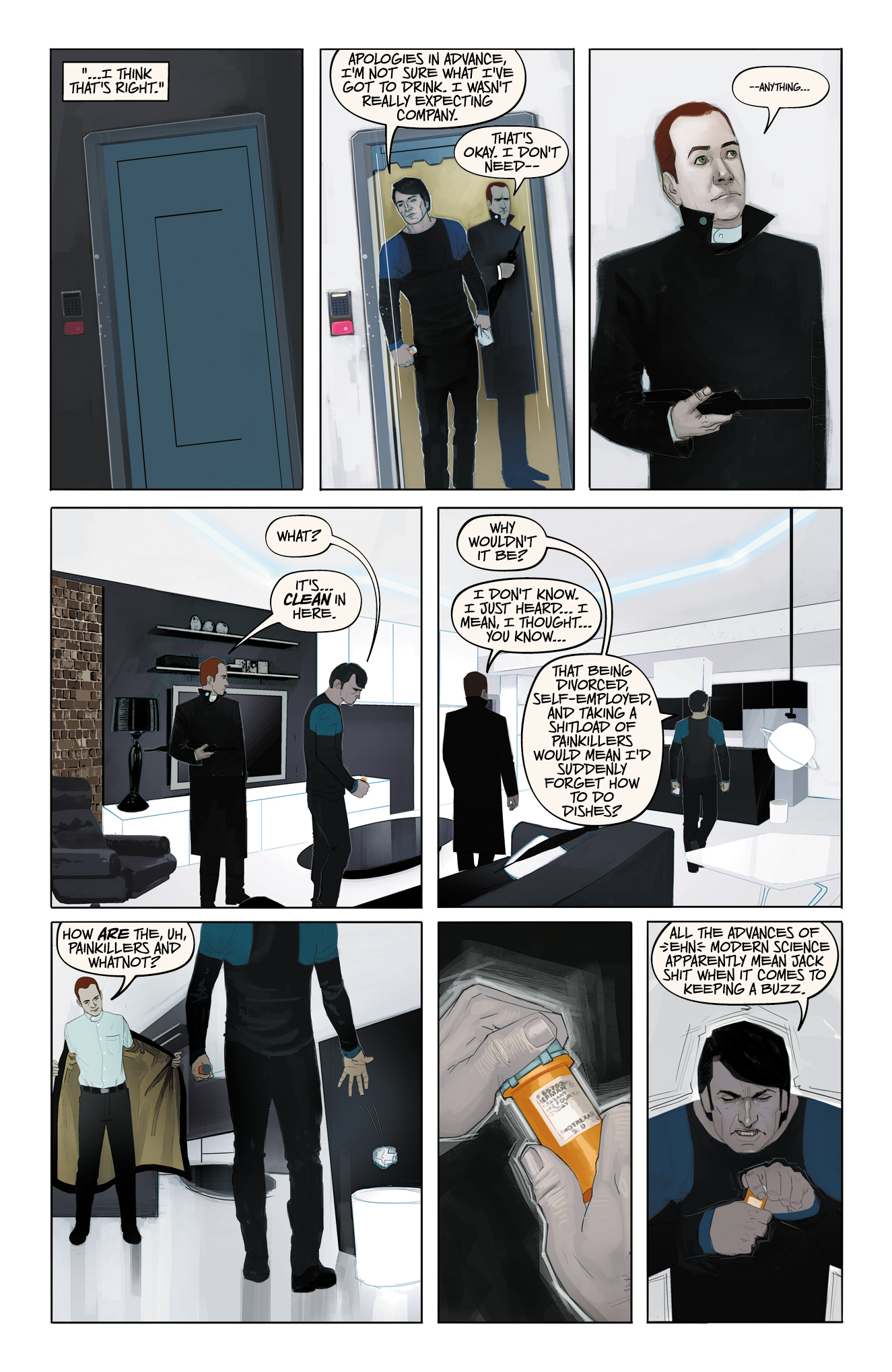 HADRIAN'S WALL #1 page 9