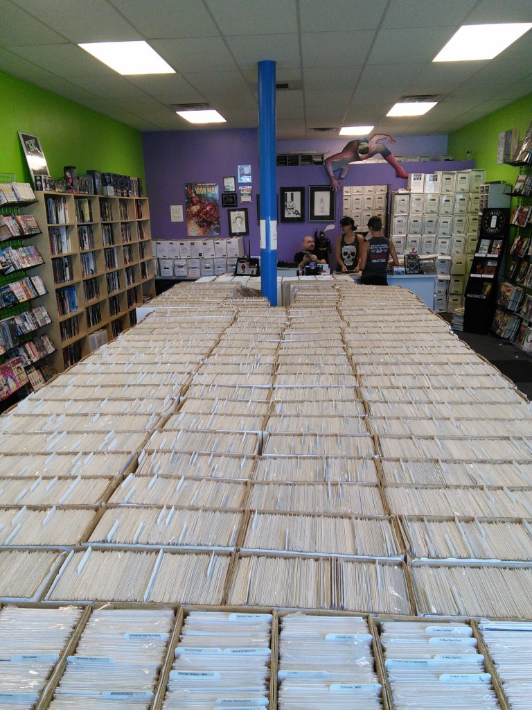 Holy deforestation, but that's a lot of comics!