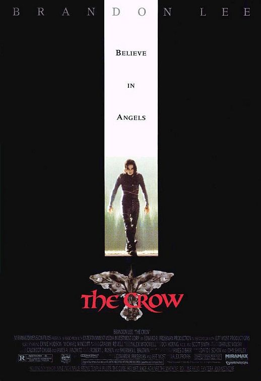 Movie poster for THE CROW (1994)
