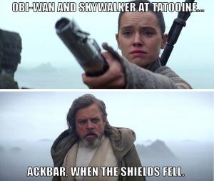 Ackbar, when the shields fell
