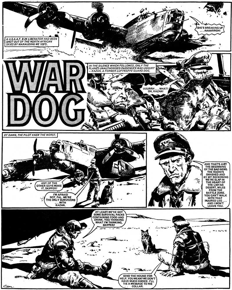 Battle Classics, Vol. 2 p.219. Script by Alan Hebden, art by Cam Kennedy.