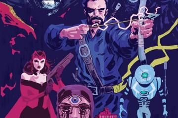DOCTOR STRANGE #12 Walsh variant cover