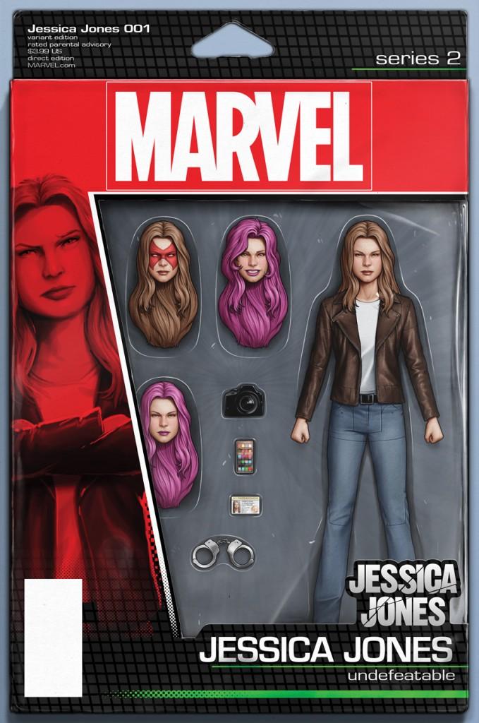 JESSICA JONES #1 action figure variant cover