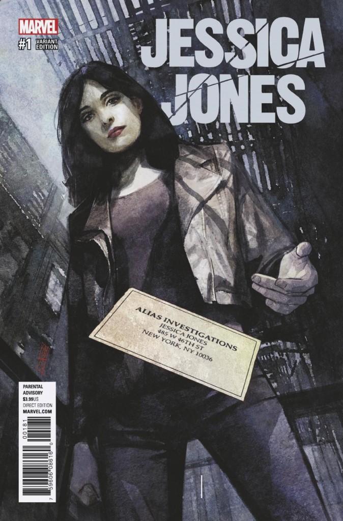 JESSICA JONES #1 Alex Maleev variant cover
