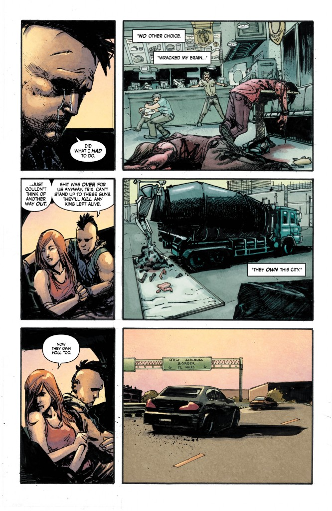 SUICIDERS: KINGS OF HELL.A. #6 page 4