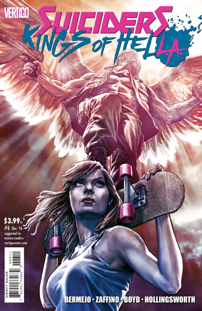 SUICIDERS: KINGS OF HELL.A. #6 cover